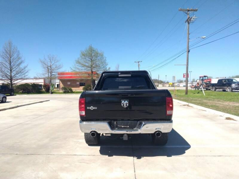 2011 RAM Ram Pickup 1500 4x2 SLT 4dr Crew Cab 5.5 ft. SB Pickup - Mckinney TX