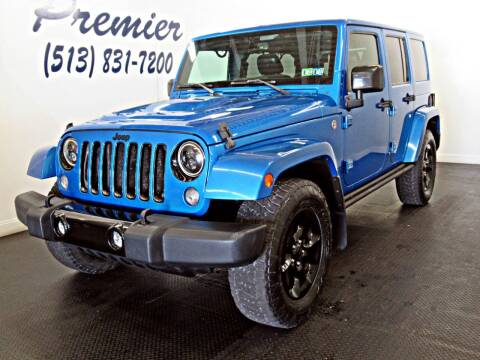 2015 Jeep Wrangler Unlimited for sale at Premier Automotive Group in Milford OH