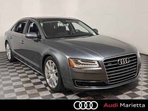 2015 Audi A8 L for sale at CU Carfinders in Norcross GA