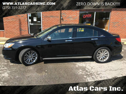 2012 Chrysler 200 for sale at Atlas Cars Inc. - Elizabethtown Lot in Elizabethtown KY