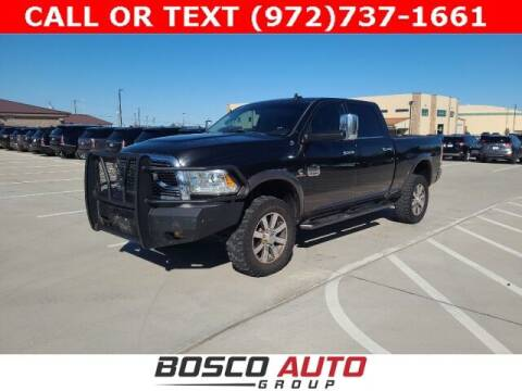2018 RAM Ram Pickup 2500 for sale at Bosco Auto Group in Flower Mound TX