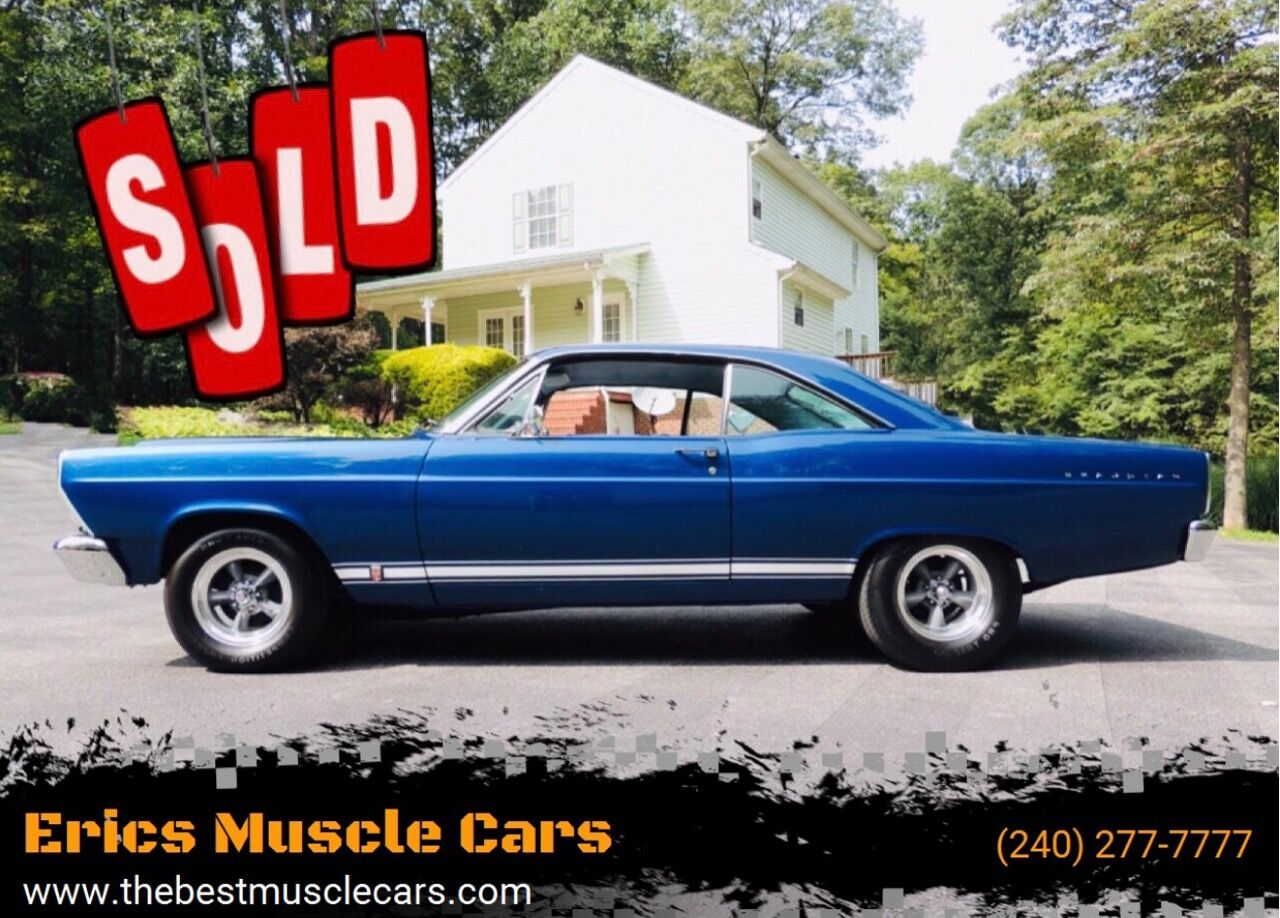 1966 Ford Fairlane GTA SOLD SOLD SOLD