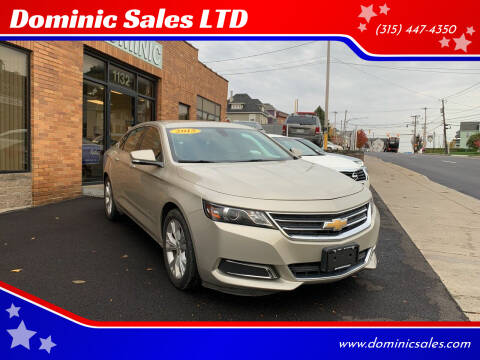 2015 Chevrolet Impala for sale at Dominic Sales LTD in Syracuse NY