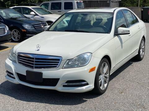 2012 Mercedes-Benz C-Class for sale at MAGIC AUTO SALES - Magic Auto Prestige in South Hackensack NJ