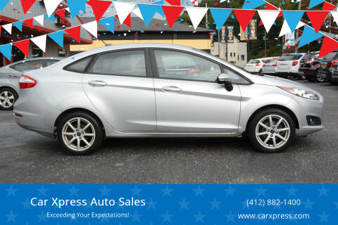 2015 Ford Fiesta for sale at Car Xpress Auto Sales in Pittsburgh PA