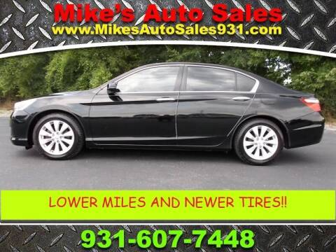 2014 Honda Accord for sale at Mike's Auto Sales in Shelbyville TN