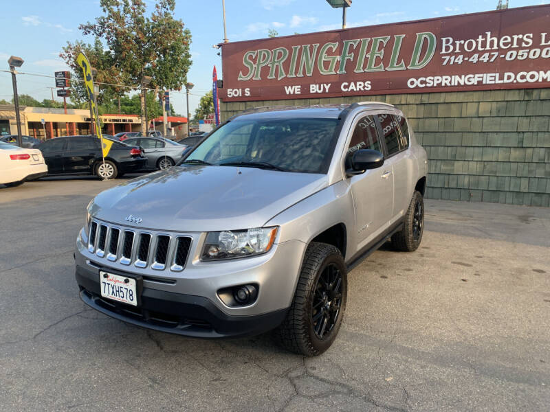 2017 Jeep Compass for sale at SPRINGFIELD BROTHERS LLC in Fullerton CA