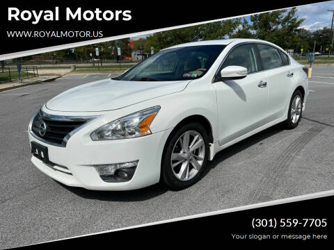 2015 Nissan Altima for sale at Royal Motors in Hyattsville MD