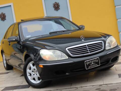 2002 Mercedes-Benz S-Class for sale at Paradise Motor Sports LLC in Lexington KY