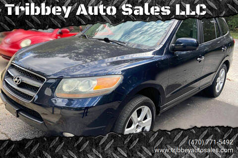 2007 Hyundai Santa Fe for sale at Tribbey Auto Sales in Stockbridge GA