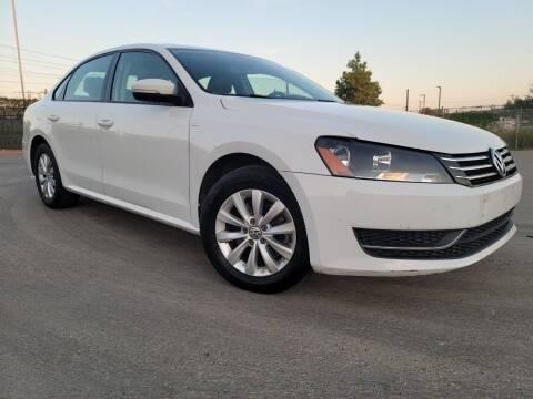 2014 Volkswagen Passat for sale at ZNM Motors in Irving TX