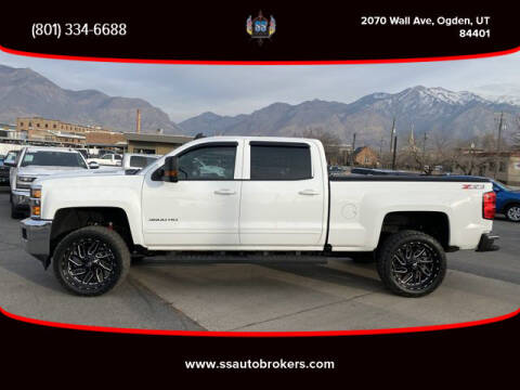 2018 Chevrolet Silverado 3500HD for sale at S S Auto Brokers in Ogden UT