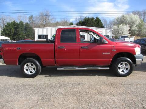 2008 Dodge Ram Pickup 1500 for sale at Hickory Wholesale Cars Inc in Newton NC