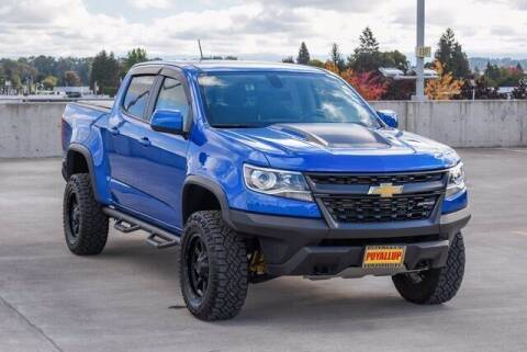 2018 Chevrolet Colorado for sale at Washington Auto Credit in Puyallup WA