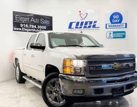2012 Chevrolet Silverado 1500 for sale at Elegant Auto Sales in Rancho Cordova CA