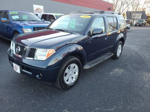 2006 Nissan Pathfinder for sale at Stach Auto in Janesville WI