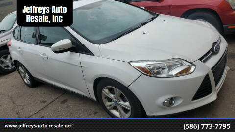 2012 Ford Focus for sale at Jeffreys Auto Resale, Inc in Clinton Township MI