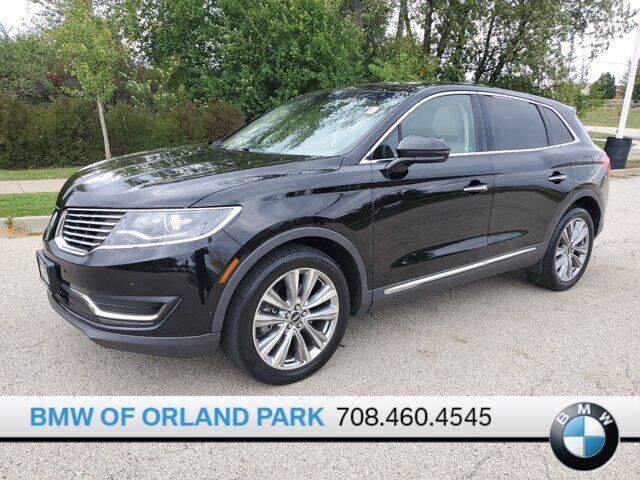2018 Lincoln MKX for sale at BMW OF ORLAND PARK in Orland Park IL