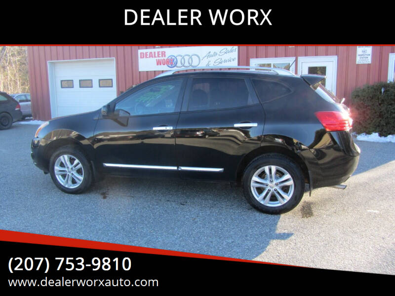 2012 Nissan Rogue for sale at DEALER WORX in Auburn ME