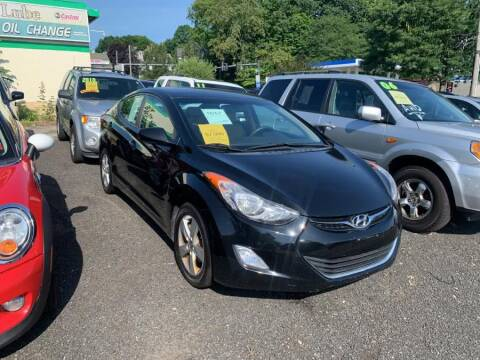2012 Hyundai Elantra for sale at Car VIP Auto Sales in Danbury CT