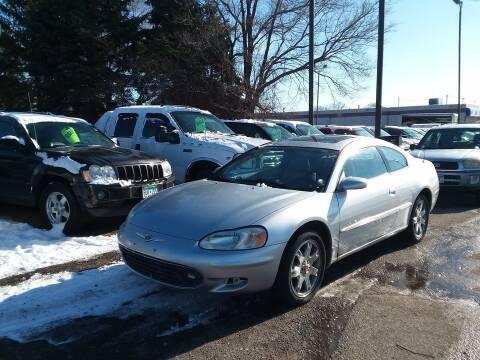 2001 Chrysler Sebring for sale at Affordable 4 All Auto Sales in Elk River MN