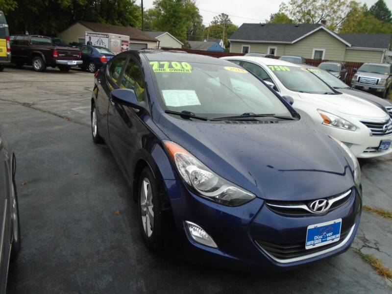 2013 Hyundai Elantra for sale at DISCOVER AUTO SALES in Racine WI