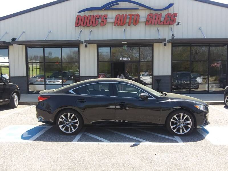 2015 Mazda MAZDA6 for sale at DOUG'S AUTO SALES INC in Pleasant View TN