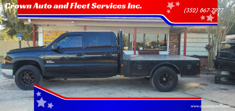 2005 Chevrolet Silverado 3500 for sale at Crown Auto and Fleet Services Inc. in Ocala FL