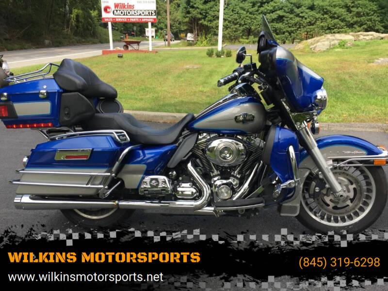 2009 Harley-Davidson Electra Glide for sale at WILKINS MOTORSPORTS in Brewster NY