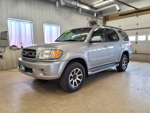 2004 Toyota Sequoia for sale at Sand's Auto Sales in Cambridge MN