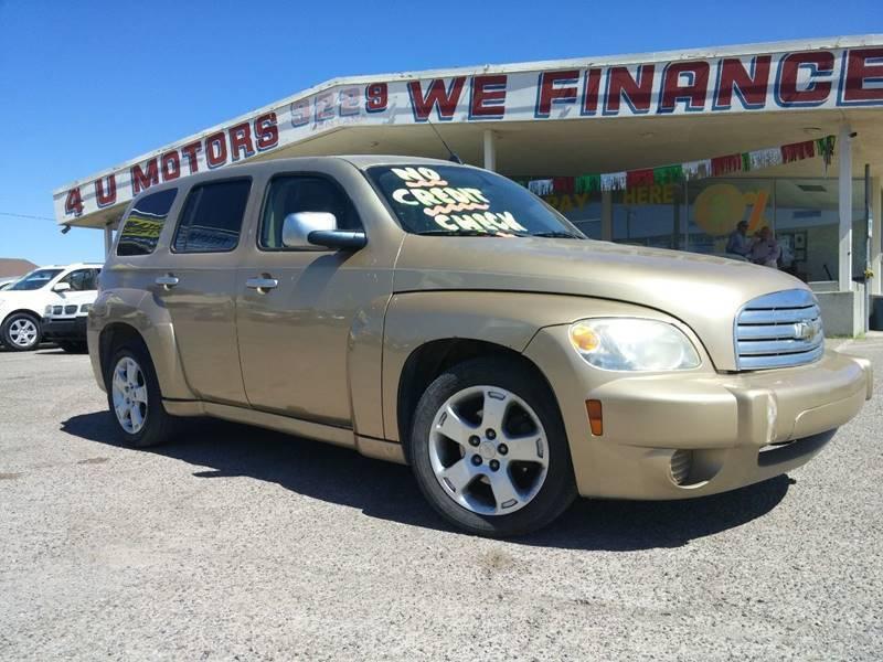 2007 Chevrolet HHR for sale at 4 U MOTORS in El Paso TX