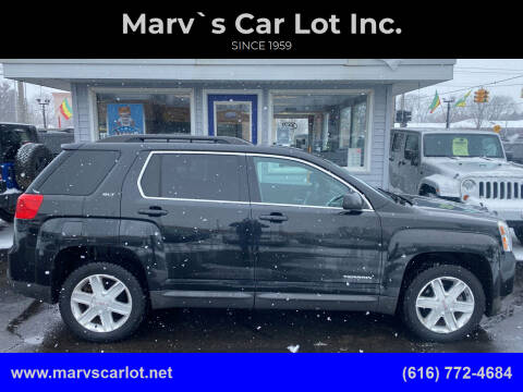2011 GMC Terrain for sale at Marv`s Car Lot Inc. in Zeeland MI
