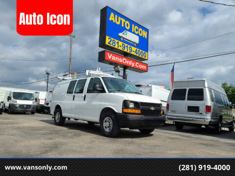 2012 Chevrolet Express Cargo for sale at Auto Icon in Houston TX