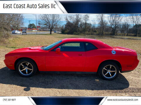 2010 Dodge Challenger for sale at East Coast Auto Sales llc in Virginia Beach VA