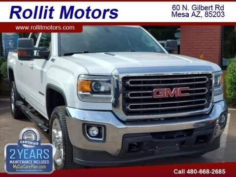 2016 GMC Sierra 2500HD for sale at Rollit Motors in Mesa AZ