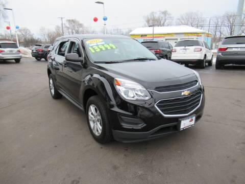 2017 Chevrolet Equinox for sale at Auto Land Inc in Crest Hill IL