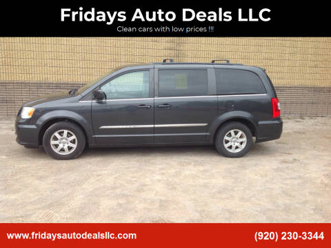 2012 Chrysler Town and Country for sale at Fridays Auto Deals LLC in Oshkosh WI