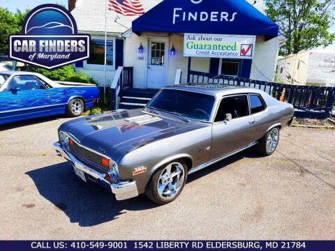 1974 Chevrolet Nova for sale at CAR FINDERS OF MARYLAND LLC - Classics in Eldersburg MD