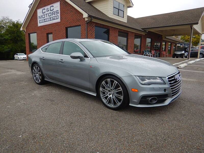 2012 Audi A7 for sale at C & C MOTORS in Chattanooga TN