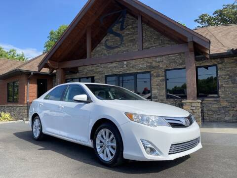 2014 Toyota Camry for sale at Auto Solutions in Maryville TN