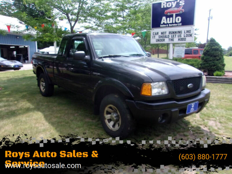 2003 Ford Ranger for sale at Roys Auto Sales & Service in Hudson NH