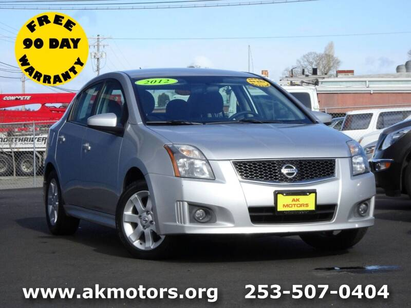2012 Nissan Sentra for sale at AK Motors in Tacoma WA