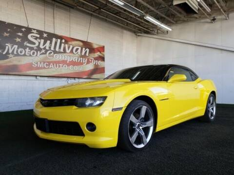 2015 Chevrolet Camaro for sale at SULLIVAN MOTOR COMPANY INC. in Mesa AZ