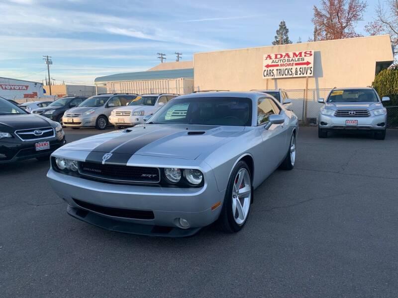 2009 Dodge Challenger for sale at Adams Auto Sales in Sacramento CA