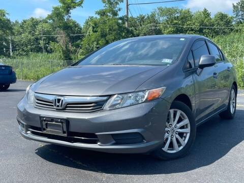 2012 Honda Civic for sale at MAGIC AUTO SALES in Little Ferry NJ