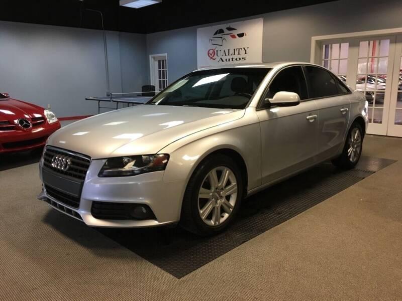 2011 Audi A4 for sale at Quality Autos in Marietta GA