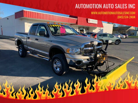 2005 Dodge Ram Pickup 2500 for sale at Automotion Auto Sales Inc in Kingston NY