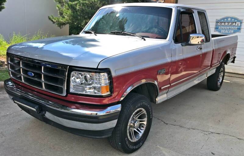 1993 Ford F-150 for sale at Muscle Car Jr. in Alpharetta GA