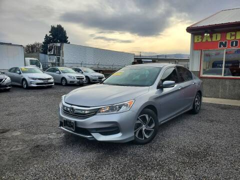 2017 Honda Accord for sale at Yaktown Motors in Union Gap WA
