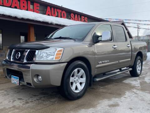 2007 Nissan Titan for sale at Affordable Auto Sales in Cambridge MN